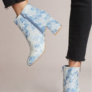 Seychelles Audition Ankle Booties Anthropologie 9